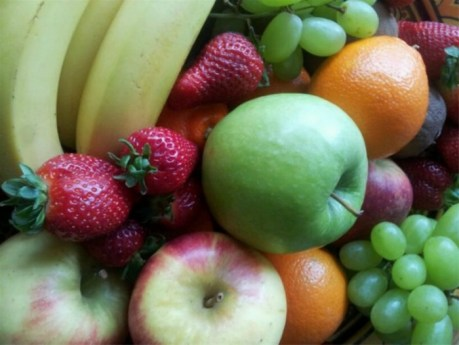 in aandacht zijn met fruit